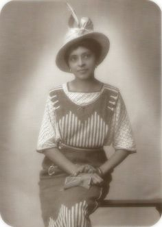 unidentified woman, in a studio portrait in the 1930s. from 'The Face of Our Past: Images of Black Women from Colonial America to the Present'  edited by Kathleen Thompson and Hilary Mac Austin