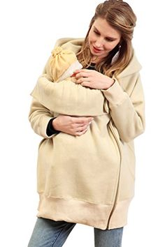 Sweet Mommy Longline Zipped Maternity Hoodie with baby pouch CRF Sweet Mommy http://www.amazon.com/dp/B00SYE6ZVC/ref=cm_sw_r_pi_dp_A6dMwb19GAQ80