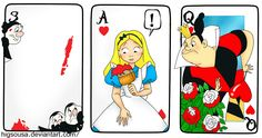 Alice+and+the+Roses..+by+HigSousa.deviantart.com+on+@deviantART