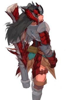 rathalos (armor) #Monster #Hunter