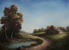 """Road through the Farm"" by Kevin Hill paintwithkevin.com"