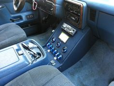 My custom center console build - Ford Bronco Forum Custom Pickup Trucks, Ford Pickup Trucks, Gm Trucks, Lifted Trucks, Ford 4x4, Ford Interior, Truck Interior, Ford Bronco 1996, Ford F150 Custom