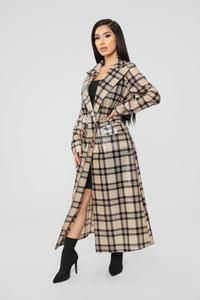 Who's Lurking Trench Coat - Beige Raincoat Jacket, Trench Jacket, Rain Jacket, Trench Coat Style, Plaid Coat, Raincoats For Women, Jackets For Women, Trendy Outfits, Fashion Outfits