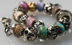 a little bit of sparkle kit love from a dedicated collector on Trollbeads Gallery.