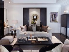 Design Inspiration: London Contemporary by Louise Bradley — The Decorista