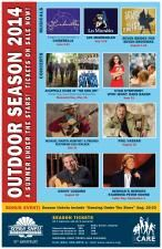 SCERA Shell Outdoor Theatre 2014 Summer Season