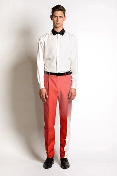 Brian Edward Millett - The Man of Style - Jonathan Saunders spring 2014