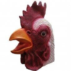 Animal Mask - Rooster  (Latex)