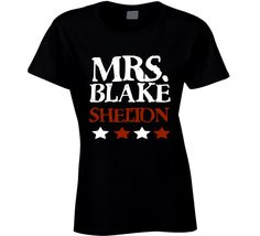 Mrs. Blake Shelton fan Music T-Shirt Blake Shelton the voice ultimate fan t…