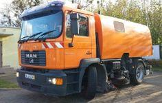 Zamiatarka, czyli dokonały sposób na sprzątanie ulic.  http://www.phu-impex.pl/produkty