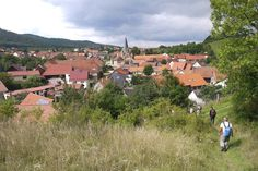 Walking to Wernigerode