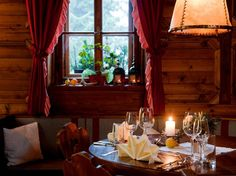 Bauernstube Unterhof Curtains, Food, Home Decor, Blinds, Decoration Home, Room Decor, Essen, Meals, Draping