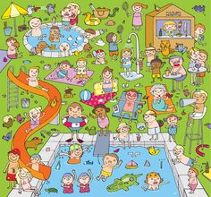 (2014-06) Hvad gør de ved/i swimming-poolen?