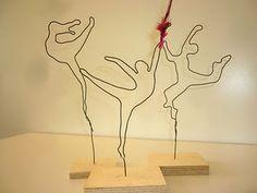 Wire figures - dancing through life :-)                                                                                                                                                                                 Mehr
