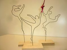 Wire figures - dancing through life :-)                                                                                                                                                                                 Mehr