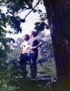 Today I'm celebrating marriage, 40 years to be exact. May be a bit nostalgic. Here's a pix I ran across of my husband and me the first summer we met. It was 1973 and really he hasn't changed much. Looks like I haven't either, but I went through monumental ups and downs during that 40 years. Our marriage works because he is my steady rock. #sweetlove