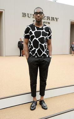 Tinie Tempah's stylist does a good job. Props! #fashion