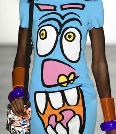 patternprints journal: PRINTS, PATTERNS, TEXTURES, DETAILS FROM NEW YORK CATWALKS (WOMENSWEAR S/S 2016) / Jeremy Scott