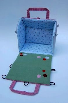 Шьем кукольный домик - Сайт для мам малышей