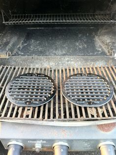 Rusty dirty grills? No more. PanGrill-it Made in USA cast iron at home or the park/camp. Aluminum Foil no more. No second guessing of what the &$?! was cooked on that grill before you. :D