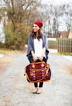 Gorgeous boho look (+ a Nena & Co. giveaway!) great colors and quality! All in one purse! #pinittowinit #nenaandco @Nena & Co. Www.nenaandco.com