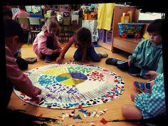 YOGA-EMOCIONA.La creatividad en las escuelas. Todos somos creativos!! Chico Yoga, Diy And Crafts, Arts And Crafts, Yoga For Kids, Kids Education, Ideas Para, Montessori, Beach Mat, Homeschool