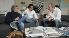 Clarkson, Hammond & May Brainstorm Names for Their New Amazon Prime Show