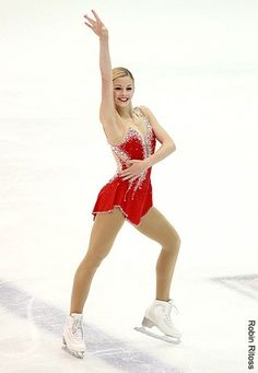 This is Gracie Gold. She is 18 years old and will be representing Team USA at the 2014 Sochi Olympics in a few weeks. She is so talented and I can't wait to see what she can do!