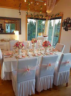 Floral royal magical themed dinner
