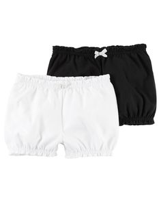 With two pairs in one pack baby's pre-paired to mix and match these babysoft cotton shorts with easy-on bodysuits for a quick change. Baby Girl Leggings, Leggings Are Not Pants, Carters Baby Girl, Toddler Girl, Toddler Outfits, Kids Outfits, Baby Girl Bottoms, Baby Girl Names, Baby Girls