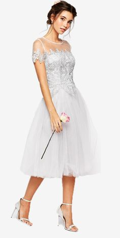 7 Trending Bridesmaids Dress Styles to Choose From  - Bridesmaids Dresses  -Tea Length Dresses - #wedding #weddingbeauty #christianSiriano #weddingfashion #asiawedding #asiaweddingnetwork