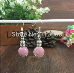 300sets/lot Miniature heart diy Glass Vial Earrings craft kit, Dangle Earrings, Bottle Earrings stoppers cap jumpings ear wires