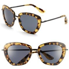 Women's Isaac Mizrahi New York 53mm Geometric Sunglasses