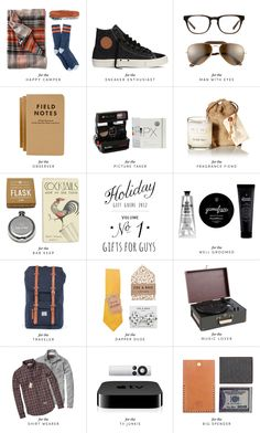 Holiday Gift Guide No. 1... Gifts for Guys
