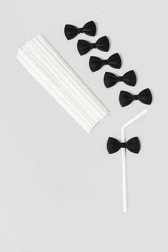 Bow Tie Straws