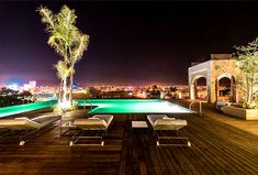 Sophisticated Luxury Sahrai Hotel in Fez luxury sahrai hotel 6