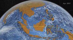 NASA ocean current visualisation