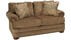 Klaussner Home Furnishings-Tolbert-Tolbert Loveseat - Jordan's Furniture