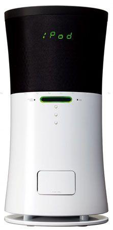JVC Kenwood NX-SA5 iPhone/iPod dock that works as air purifier