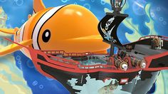Видео про игрушки. Маша (Капуки Кануки), Марк и Адриан играют в пиратов!...