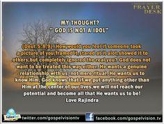 God is not idol