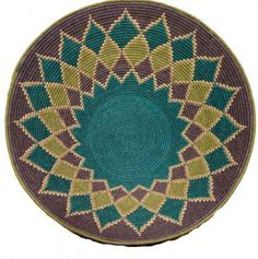 Sisal Basket | Woven by women living in the rural areas of Swaziland.