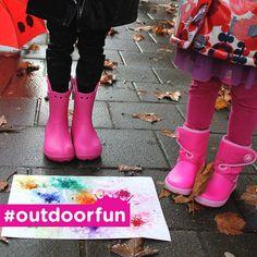 #outdoorfun #crocskids Outdoor Fun, Hunter Boots, Crocs, Rubber Rain Boots, Kids, Fashion, Young Children, Moda, Boys