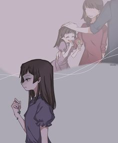 It was sad for her parents to die Undertale Drawings, Undertale Fanart, Undertale Comic, Dark Art Illustrations, Illustration Art, Horror Sans, Character Art, Character Design, Sad Drawings