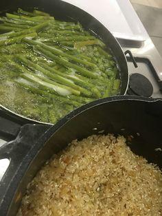 Asparagus Risotto! See our bonus recipe!