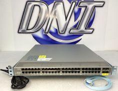 Cisco N2K-C2148T-1GE 48 Port Nexus 2148TP0 1GE Fabric Extender N2K-PAC-200W #Cisco
