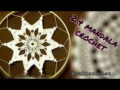 2.4. MANDALA Crochet. SEGUNDA TEMPORADA. DIAMETRO 25 cm. - YouTube Juju Hat, Techno, Diy And Crafts, Christmas Bulbs, Holiday Decor, Dream Catchers, Blog, Couture, Hippie Purse