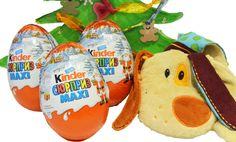 Today we have three Kinder Maxi Surprise eggs to open. This is a special New Year edition with great surprises inside. The eggs are giant and the toys inside just amazing. We found Mr. Kinder (Kinderino) in the first egg, Mr. Smiling Alligator (Mike Macho) in the second one and the Racer Hippo (Happy Hippo) in the third egg. These fabulous toys by Kinder Surprise brought us really kind emotions like in the childhood.
