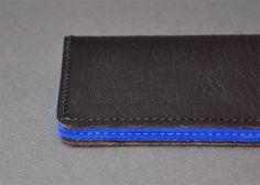 Image of Porte-cartes brown & blue