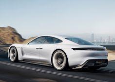2018 Porsche Mission E: Electric Sport Sedan Concept Targets Tesla, Gallery 1 - Green Car Reports Porsche Panamera, Porsche Taycan, Porsche Sports Car, Porsche Electric Car, Electric Sports Car, Electric Vehicle, Electric Motor, Supercars, Porsche Mission E